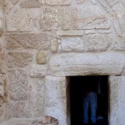 Eingang zur Geburtskirche - Tor der Demut